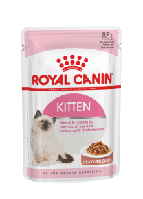 Royal Canin Kitten (sauce, gelée ou mousse)